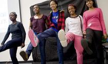 teens step