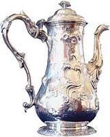 teapot silver