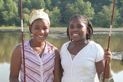 fishing teens