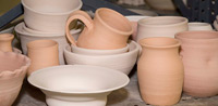 pottery bisque