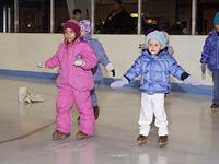 ice skating little children