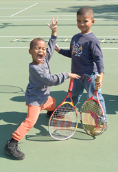 tennis children