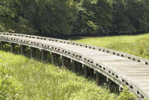 Patuxent River Park bridge