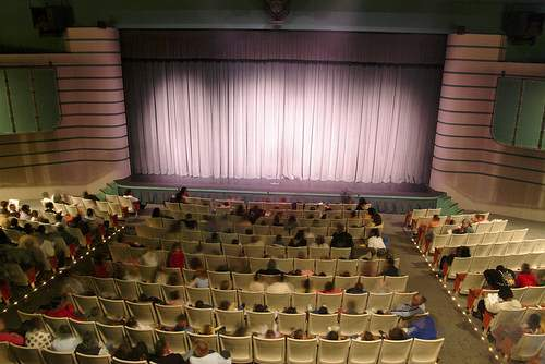 Publick Playhouse audience