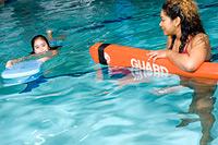 inside pool swimming lessons