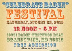 celebrate baden banner