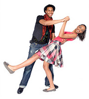 teen dance couple