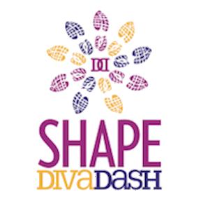 Transparent 2013 Diva Dash logo