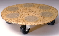 Goldberg seder plate