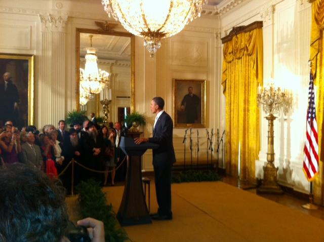 Obama at JAHM reception