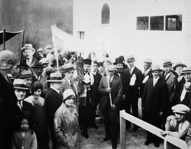 Canada synagogue dedication