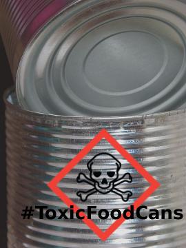 Toxic BPA cans