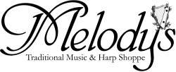 melody logo B&W