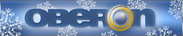 Oberon holiday logo