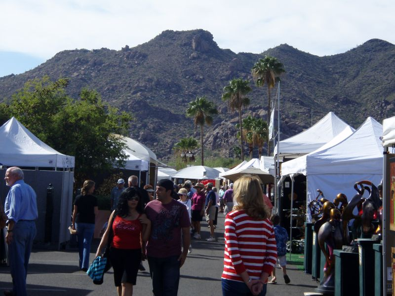 Thunderbirds Art Festival crowd