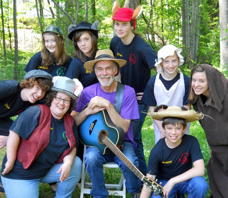ONCE UPON A BLUE RIDGE SUMMER COMPANY 2012