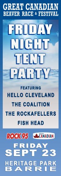 Beaver Fest Tent Party