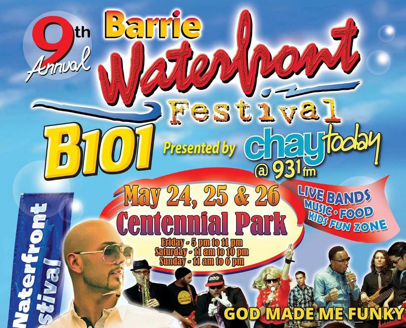 Barrie Waterfron Festival