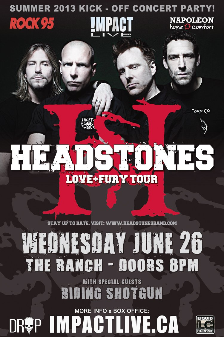 Headstones Poster