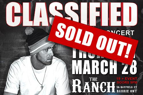 Classified Sold Out