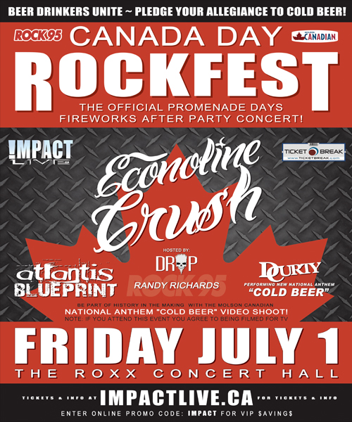 Canada Day Rockfest 2011