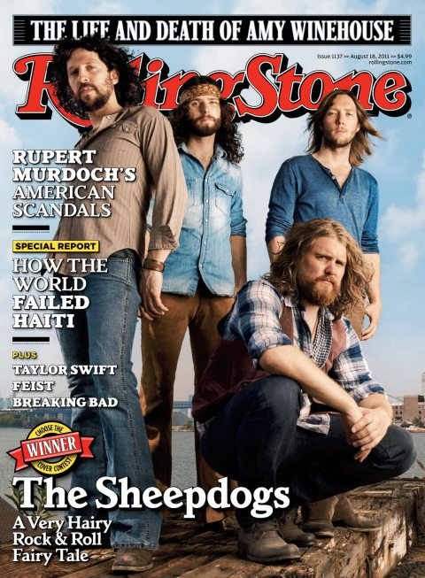 Sheepdogs Rolling Stone Cover