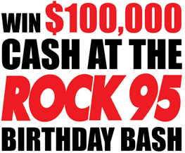 Rock95 B-Day Bash