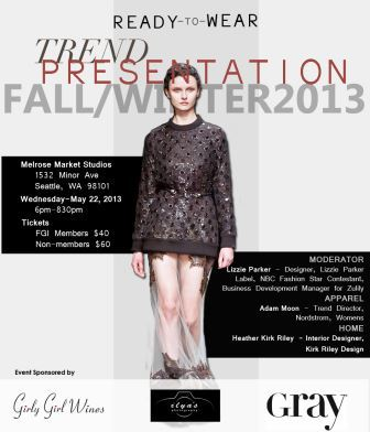 Trend Presentation Flyer May 2013
