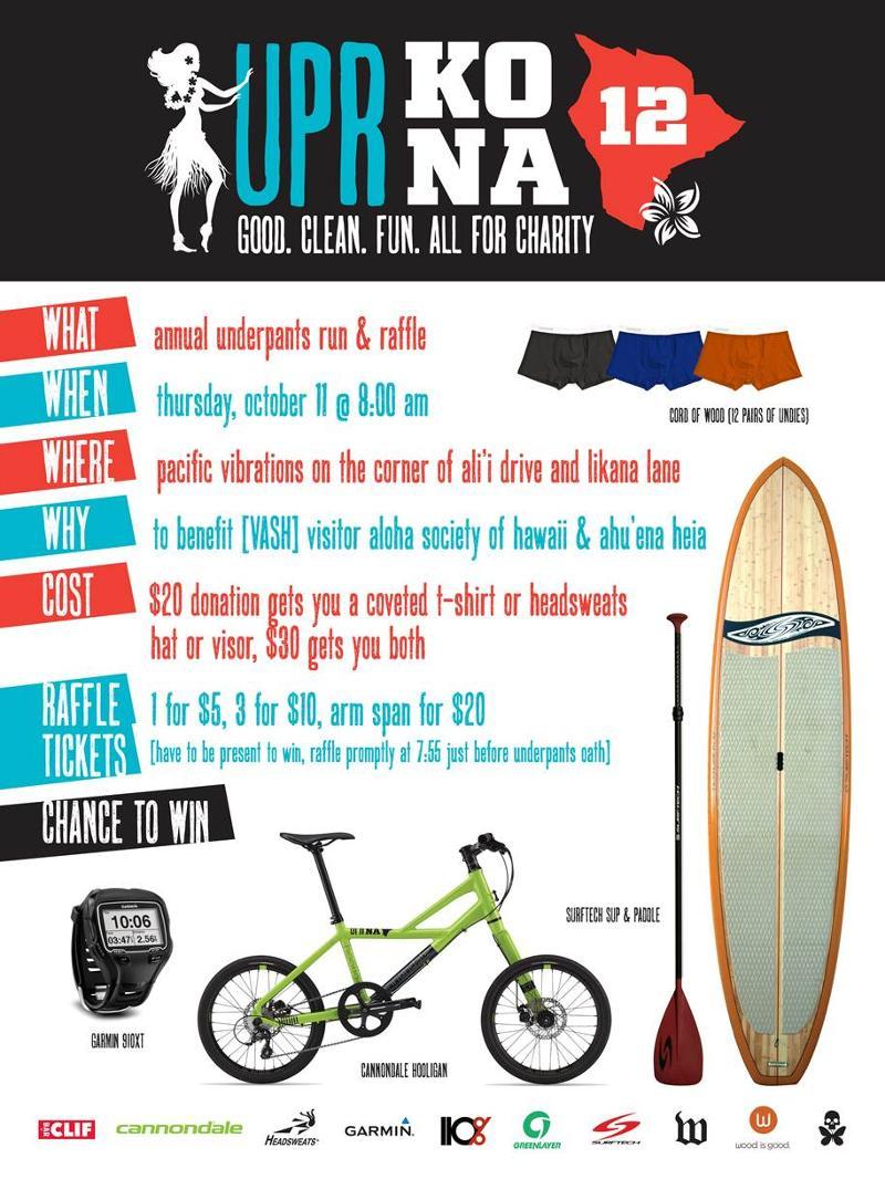UP run poster