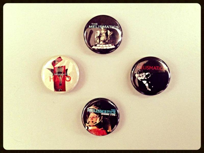 Melismatics Tour Buttons