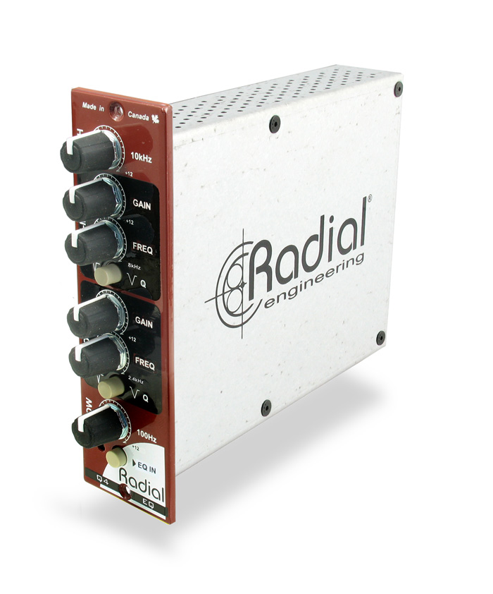500 Series Class A Parametric EQ From Radial