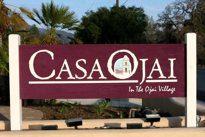 Casa Ojai Sign