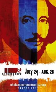 Shakespeare Santa Cruz Poster