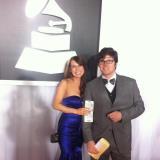 Matt and Meg @ Grammys