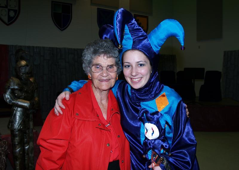 Anna Rose and Grandma Eva