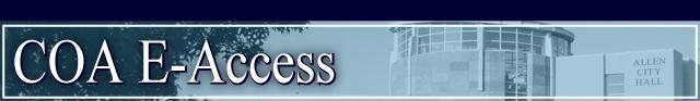 e-access web banner