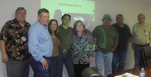 NRCS meets with Tribal Leaders