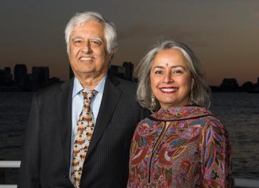 Lalit and Kavita Bahl