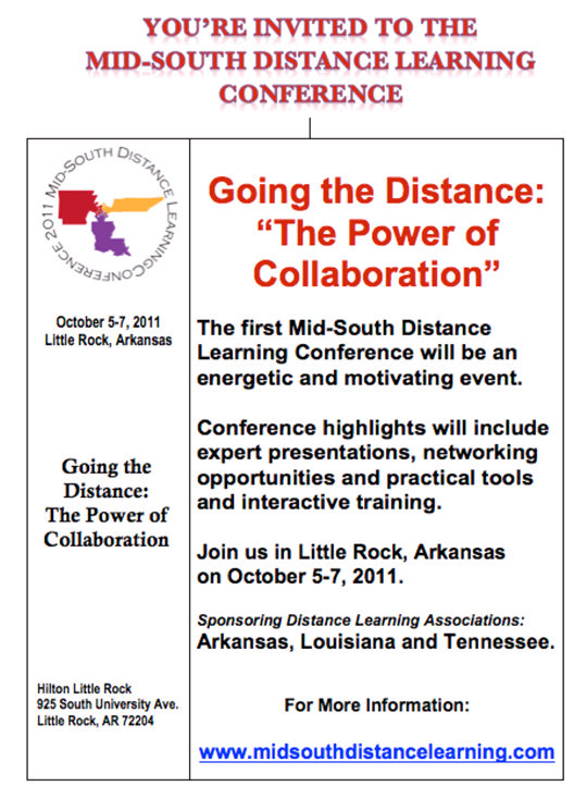 Mid-South Distance Learning Conference