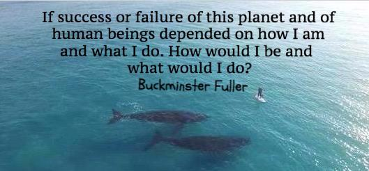 Buckminster Fuller quote graphic