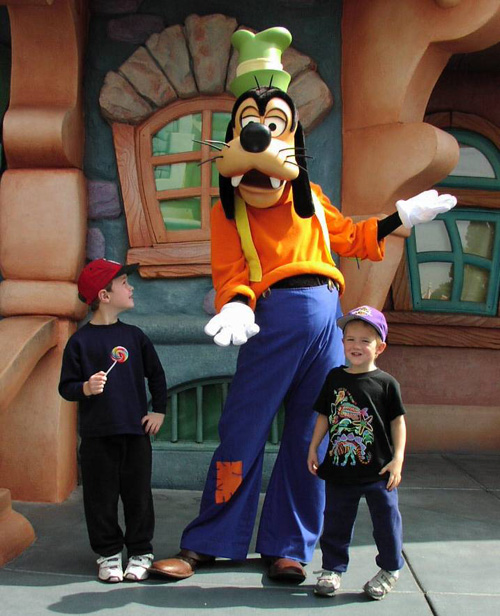 Goofy at Glazer Children's Museum