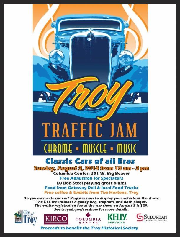Troy Traffic Jam 2014 @ Troy | Michigan | United States
