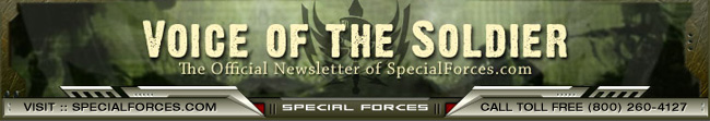 Special Forces Gear Newsletter - Voice Of The Soldier