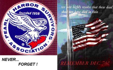 Remember Pearl Harbor! December 7, 1941