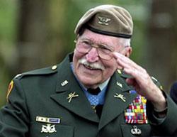 Medal of Honor Winner Lewis Millett