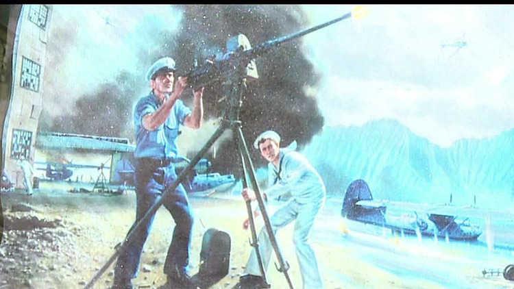 John Finn at Pearl Harbor