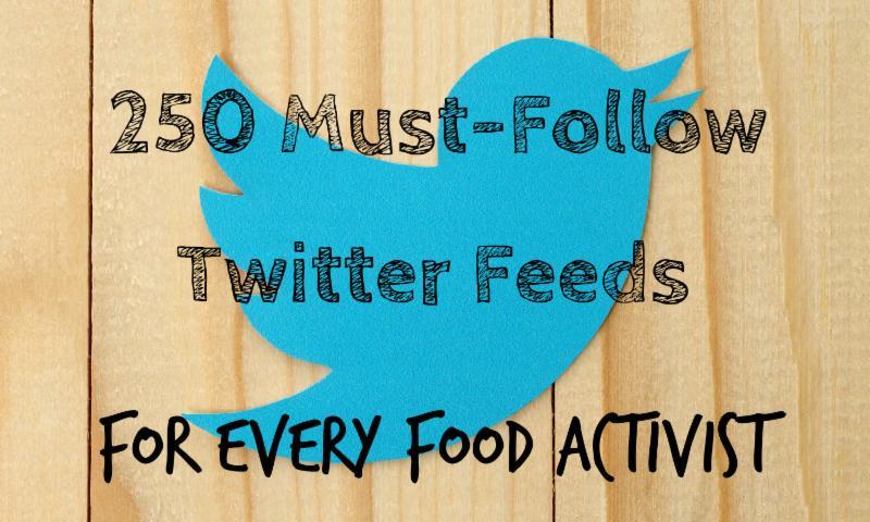 Food Tank Twitter List