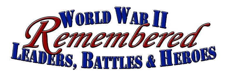 WWII Remembered Logo