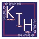 Kansas Town Hall logo