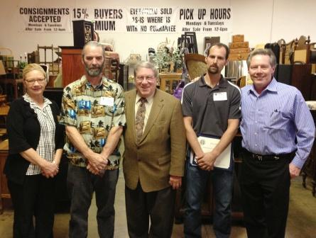 Another Ribbon Cutting Ceremony Was Held By The Upland Chamber Of Commerce  Announcing The Opening Of Upland Furniture Auction At 1265 ...